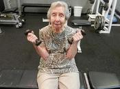 Flexiones para mayores. Bíceps