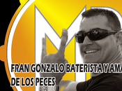 Fran Gonzalo baterista amante peces