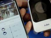 pequeña Panasonic Nubo sorprende vigilancia