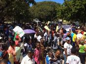 "Protestan Barahona contra ""contaminación"" Consorcio Azucarero."