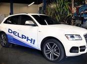 """coche autónomo Delphi quiere hacer """"costa costa"""" Estados Unidos"""