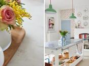 Femenina primaveral decoración Vintage tonos pasteles