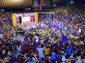 Arena Cibao repleta completo favor reelección Danilo.