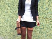 Minifalda maxibotas