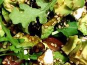 Ensalada Rúcula Smoothie Antioxidante