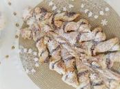 Arbol Navidad Hojaldre, Nutella Nueces