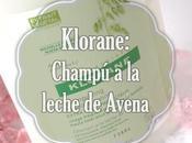 Klorane blog tester: champú leche avena