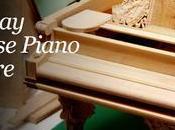 crea réplica piano Steinway White House 1903