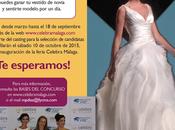 """Gana vestido novia gratis gracias concurso """"Celebra Málaga"""""""