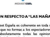 #BoicotAMediaset QUEMA TWITTER APOYO JESÚS CINTORA