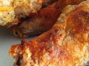 Alitas pollo crujientes horno