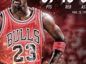Michael Jordan encestó puntos.