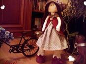Muñeca Amelie. Cojín