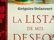 lista deseos Gregoire Delacourt