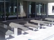Mobiliario urbano plástico reciclado Parque Tecnológico Salud Granada