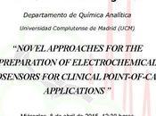 Conferencia: Sensores electroquímicos