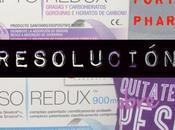 Resolución Sorteo Forté Pharma Semana Santa 2015
