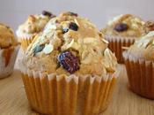 Muffins pera muesli toque canela