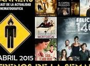 Estrenos Semana Abril 2015 Podcast Scanners