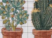 Esquemas cactus punto cruz