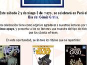 Lugares celebrarán Cómic Gratis Perú