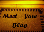 """MEET YOUR BLOG"", genial iniciativa entre blogs animo participar..."