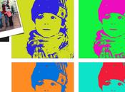 Retratos múltiples estilo Andy Warhol