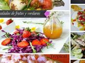 ensaladas frutas verduras