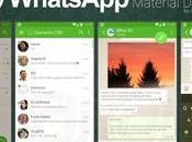 WhatsApp actualiza Material Design
