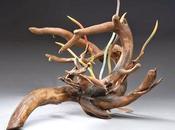 esculturas orgánicas recicladas Alison Sigethy