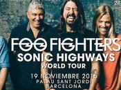 Fighters concierto Barcelona Noviembre
