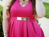 Vestidos rosa para gorditas
