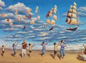 Gonsalves. Ilusiones ópticas pinturas surrealistas.