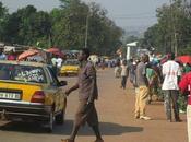 vida África vista desde taxi III). Bangui)