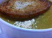 Crema Guisantes Espinacas Receta Vegana Gibraltareña