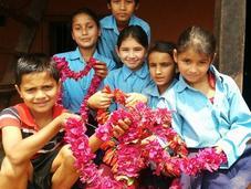 Fotografías Nepal escuela