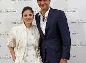 Roger Federer Elena Anaya protagonistas #tinytennis Moët Chandon