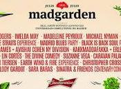 Festival Madgarden suma Chic (con Nile Rodgers), Divine Comedy, Christopher Cross...