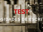 Test: curiosidades escritores