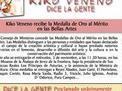 Kiko Veneno medalla mérito Bellas Artes