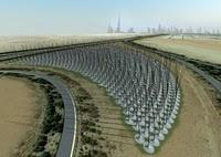 Windstalk: Aprovechamiento eólico mediante tallos similar movimiento hierba