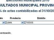 elecciones municipales tenemos resultados 100%
