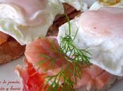Montadito jamón, salmón huevos #festadosalmón