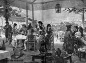 Estampas. Madrid pueblo. Fiesta Isidro principios siglo