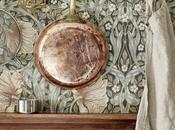 modernidad papeles pintados William Morris