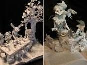 libros cobran vida increíbles esculturas artista Jodi Harvey-Brown