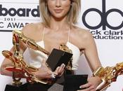 Taylor Swift, gran triunfadora Premios Billboard 2015