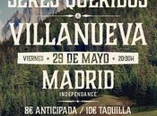 Fiesta festival portamérica, concierto eladio seres queridos villanueva madrid