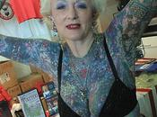 Falleció Isobel Varley mujer tercera edad tatuada mundo