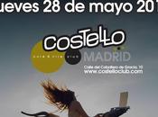 SHINOVA concierto presentando ARTISTA TEMERARIO COSTELLO CLUB- JUEVES MAYO PARTIR 21:30 HORAS INVITADO: PICHURRA